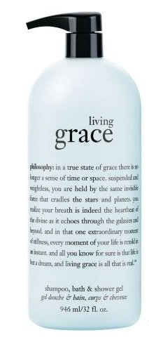 Philosophy Living Grace Shampoo, Bath & Shower Gel 32oz (Philosophy Living Grace Shampoo Bath And Shower Gel)