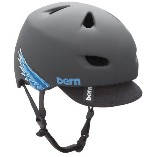 Bern Brentwood Matte Helmet with Visor (Grey Squid, XX-Large) Review