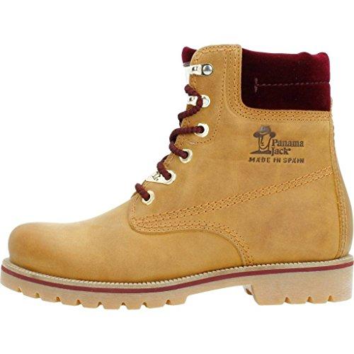 Panama Frauen Glitter PANAMA JACK Stiefel Schnürstiefel 03 Combat Boots Damen Lederstiefel Chukka Oxw1wftZq