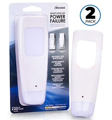 Ge Rechargeable Power Failure Led Night Light in US - 5