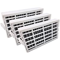 Enterpark Only 3 pack Replacement Air Filters for Whirlpool Refrigerator W10311524 AIR1