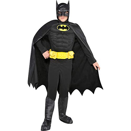 Suit Yourself Batman Muscle Halloween Costume for Boys, Small, Includes Accessories ()