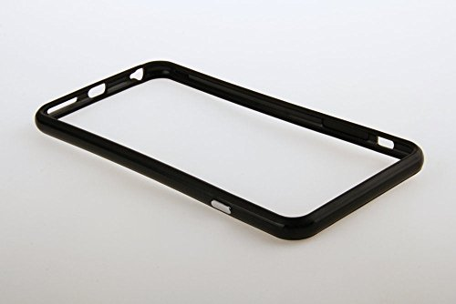 Super Quality Iphone 6 Silicon Bumper Black by G4GADGET®
