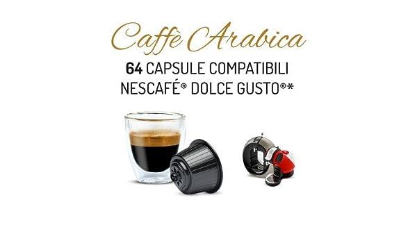 Capsulas Compatibles Dolce Gusto®* Cafe Solo Arabica 64 bebidas ...