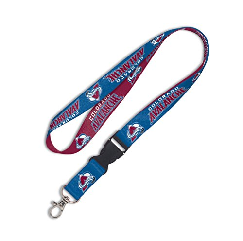 NHL Colorado Avalanche Lanyard with Detachable Buckle - Colorado Avalanche Tickets