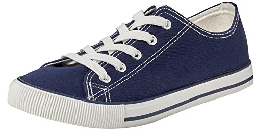 New Look Marker, Zapatillas Mujer Azul (Navy)