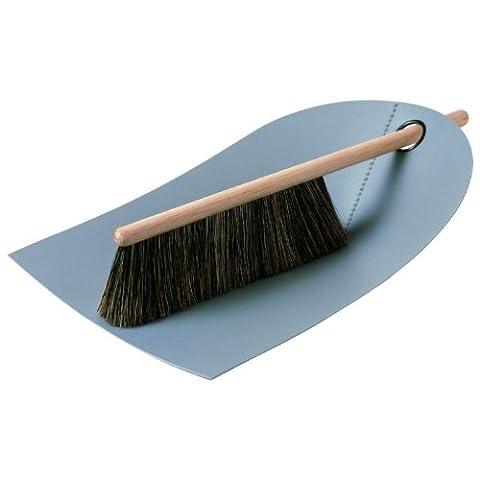 Normann Copenhagen Dustpan and Broom Light Grey