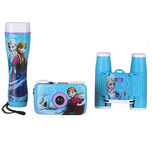 Frozen 3-Piece Adventure Kit with Camera, Flashlight, and Binoculars 26027