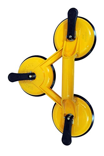 Jon Bhandari Tools Premium Suction Cup Three head Glass Lifter Puller Heavy Duty Price & Reviews
