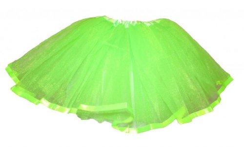 Lime Green Satin Ribbon Lined Dance (Lime Tutu)