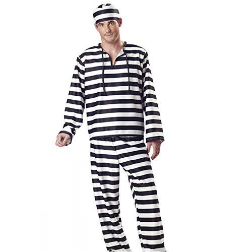 AQTOPS Prisoner Costumes for Halloween ()