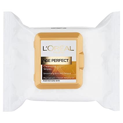 LOreal Age Perfect Cleansing Wipes para la piel madura