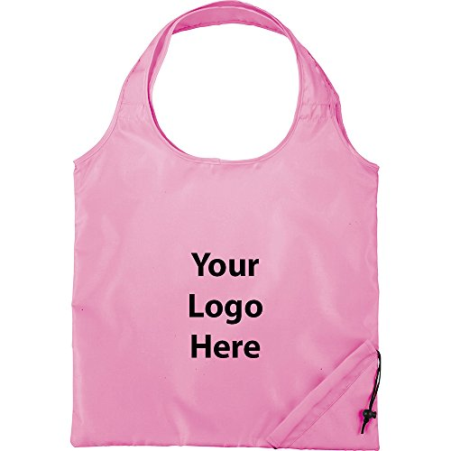 Sunrise Identity Bungalow Foldaway Shopper Tote - 100 Quantity - 2.65 Each - PROMOTIONAL PRODUCT/BULK with YOUR ()