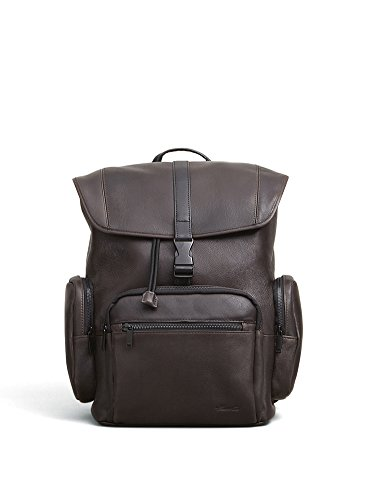 Kenneth Cole New York Columbian Leather Rucksack Backpack (Kenneth Cole New York Luggage)