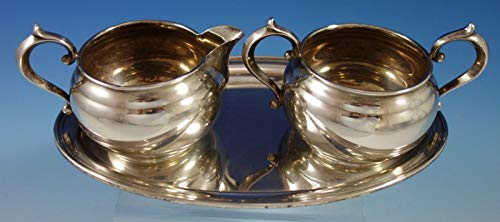 Old French by Gorham Sterling Silver Sugar and Creamer Set 3pc (#2782) -