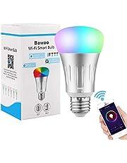 Bawoo Smart LED Wifi Bombilla Inteligente 7W 925lm RGB