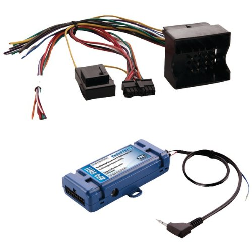 PAC RP4-VW11 All-in-one Radio Replacement and Steering Wheel Control Interface (For select VW vehicles with CAN Bus)-by-PAC