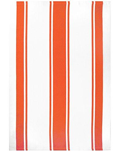 MUkitchen 100% Cotton Oversized Designer Kitchen Towel, Sea Coral - 20 x 30 ()