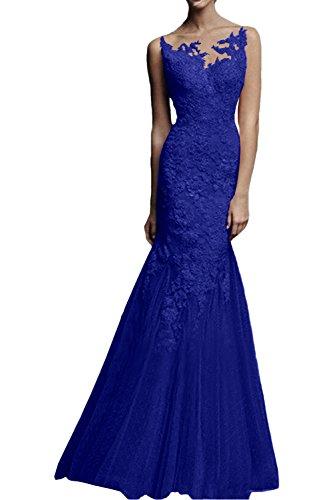 Rot Etuikleider La Glamour Abendkleider Festlichkleider Dunkel Marie Blau Langes Spitze Brautmutterkleider Braut Royal qxFFHpOntw