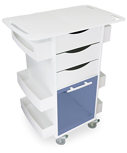 (TrippNT 51437 Polyethylene/ABS Core DX Cart with Extended 29