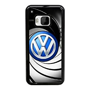 Volkswagen Car Logo For Cell Phone Case HTC One M9 Black Case Cover W13W7044514