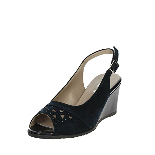 Soft 002 Bleu Sandale Femme Cinzia IAB201854 xHdwEnS