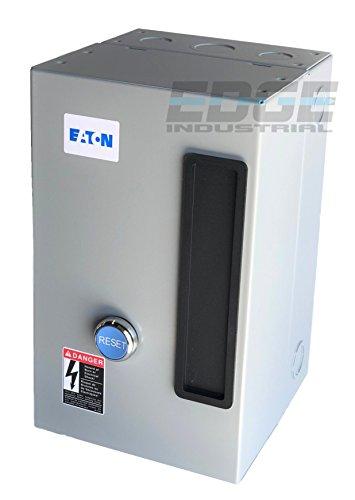 - EATON A27CGF40B040 MAGNETIC MOTOR STARTER 10HP 3 PHASE 208-230 VOLT 40 AMP DEFINITE PURPOSE STARTER CONTROL