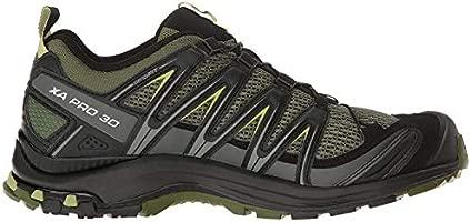 Salomon Men's XA Pro 3D Trail Running Shoes, ChiveBlackBeluga, 7.5