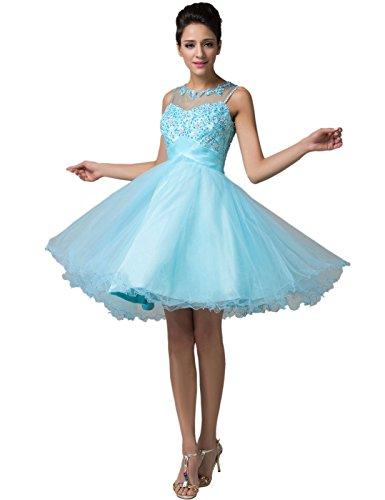 Blue 2 Prom Dress - 6