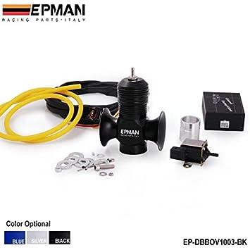 epman eléctrico Turbo Diesel Blow Off Valve/Válvula de diésel camión volquete/Diesel BOV Kits para todos turbo Diesel vehículos (negro): Amazon.es: Coche y ...