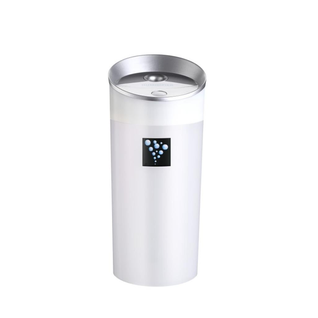 300 ml Large Humidifier, Ruhiku GW Car Family expenses Anion Humidifier Air Purifier Freshener With USB Interface (White)