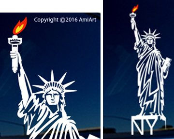 NEW YORK Sticker Decal - LARGE 10.5