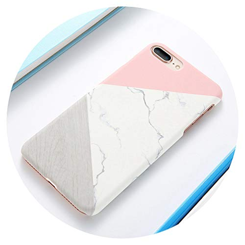 for iPhone X Xr iPhone 5S 5 Se Case Ultra Thin Marble Wood Patterned Phone Cases for iPhone 7 6 6S Plus Funda Accessory,Pattern 2,for iPhone Xr