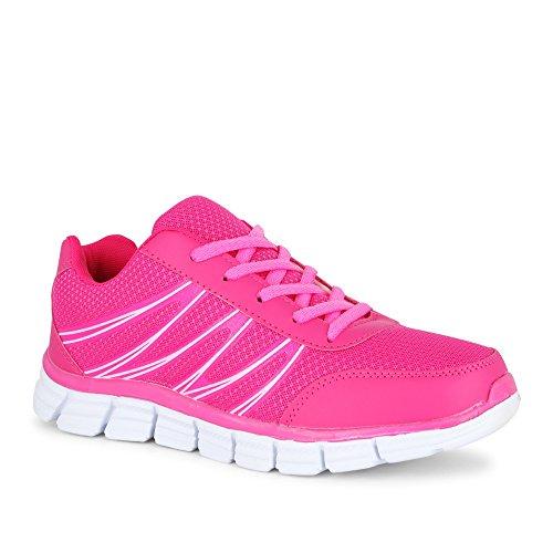 Fitters Sportschuh Runner Rosa / Turnschuh Pink