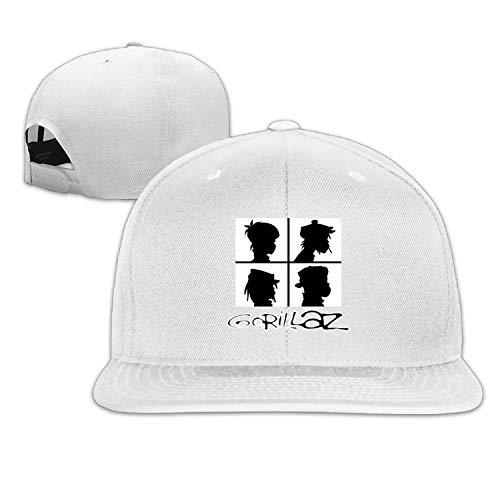 - SAMS Custom Cap Baseball Cap Side 3D Printing Gorillaz Hand Casual Cap Gorras Hip hop Snapback Hats wash Cap Champagne