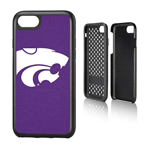 - Keyscaper KRGDI7-0KSU-SOLID1 Kansas State Wildcats iPhone 8/7 Rugged Case with KS Solid Design