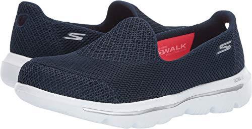 Skechers Women´s - Gowalk Evolution Ultra - Interact, Walking, Navy/White, 9 US M ()