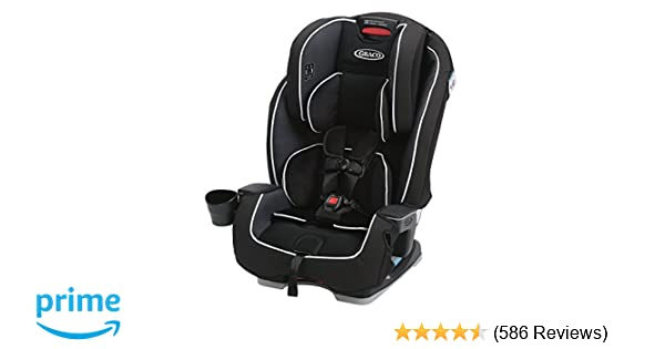 Graco Milestone All In 1 Convertible Car Seat Gotham One Size 1946246