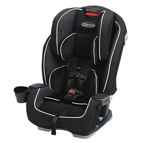 Image of the Graco Milestone All-in-1 Convertible Car Seat, Gotham