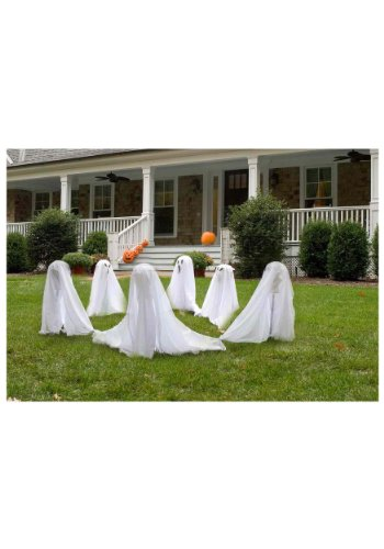 Ghostly Group Lawn Decor - 3-PCS