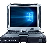 Panasonic Toughbook CF-19 10.1 Rugged Touchscreen Laptop, Intel Core i5 Dual-Core, 2GB DDR3, 250GB SATA, 802.11n, Win7Pro 64-Bit, 10 hours battery life (Certified Refurbished)