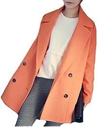 Amazon.com: Oranges - Wool & Blends / Wool & Pea Coats: Clothing ...