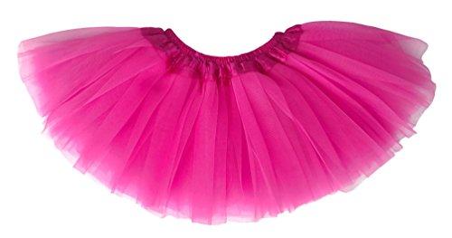 Dancina Tutu Baby Ballerina Dressup Fluffy Birthday Photoshoot Pettiskirt 6-24 Months Hot Pink