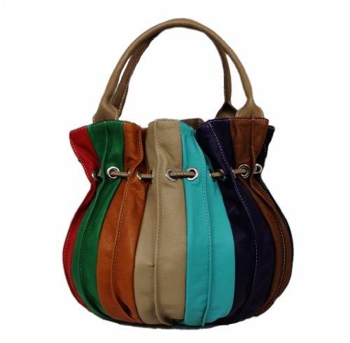Made Italy, Borsa a spalla donna Multicolore multicolore groß