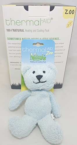 Thermal-Aid Mini Blue Bear Stuffed Natural