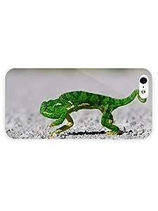 3d Full Wrap Case for iPhone 5/5s Animal Chameleon57