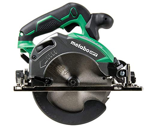 Metabo HPT Cordless Circular Saw | Tool Only | No Battery | 18V | 6-1/2″ Deep Cut Design | Brushless Motor | Lifetime Tool Warranty | C18DBALQ4