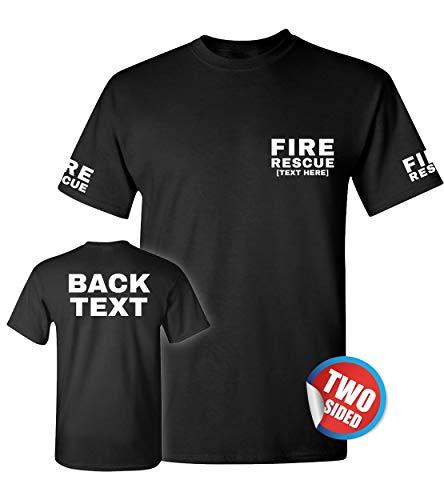 Firefighter T Shirt Men - Wildland Firefighting Gear - Fire Dept T Shirts - EMS Fireman (Fire Ems Apparel)