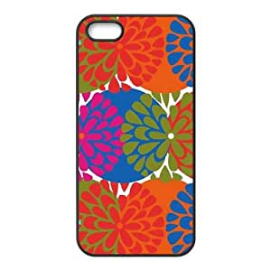 Flowerburst Robin Zingone iPhone 5 5s Cell Phone Case Black phone component AU_584247