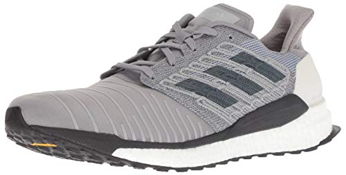 adidas Men's Solar Boost Running Shoe, Bold Onix/Grey, 6.5 M US
